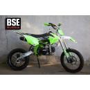Питбайк BSE MX 125 17/14 Racing Green 2 (Фильтрбокс, счетчик моточасов, фрезерованная крышка бака и лапка тормоза, алюминиевые обода)