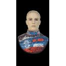 Зимний шарф-кольцо Russia