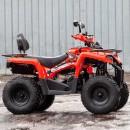 Квадроцикл SSSR STAR 200 черный пластик, оранжевые наклейки